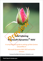 RoleTailoring Microsoft Dynamics NAV - Preview