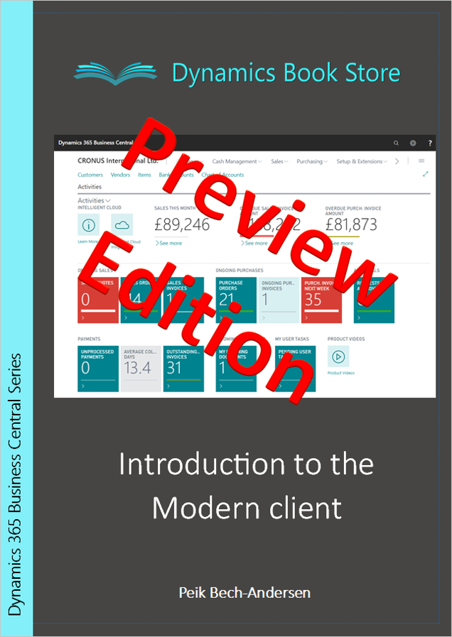 Introduction to the Modern client - Preview